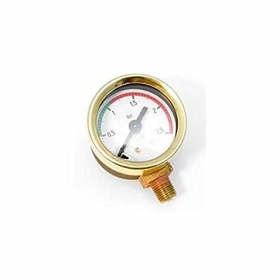 La Pavoni Pressure Gauge-Brass