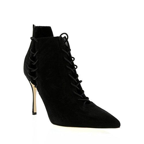 sergio-rossi-black-cutout-elastic-ankle-boot