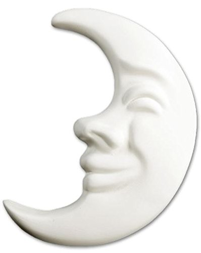 Brilliant Moon Plaque - Paint Your Own Ceramic Keepsake New Hampshire Craftworks
