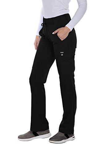 Grey's Anatomy Signature 2218 Trouser Cargo Pant Black M Black Cargo Trousers
