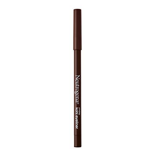 Neutrogena Smokey Kohl Eyeliner with Antioxidant Vitamin E, Water-Resistant & Smooth-Gliding Eyeliner Makeup, Dark Brown, 0.014 oz