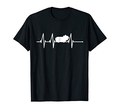 Guinea Pig Heartbeat Shirt Guinea Pig Lover Gifts Tshirt