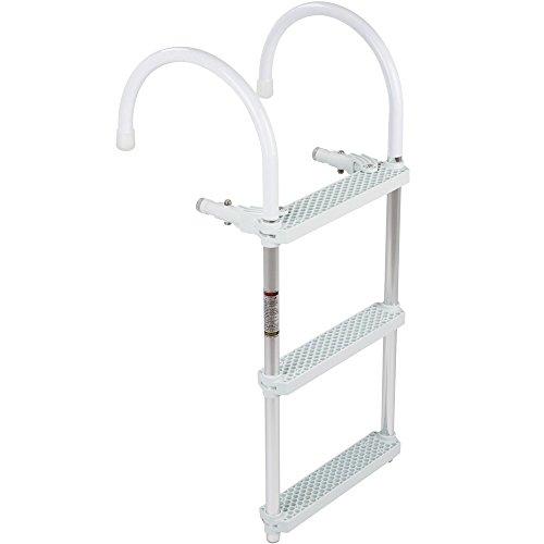 3-Step Portable Hook-on Boat Boarding Ladder