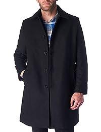 Orson Mens Wool Blend Single Breasted Walking Coat
