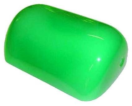 Vetro di Ricambio per lampada ministeriale piccola Ottone Tegola Verde 15 cm x 10 cm arterameferro
