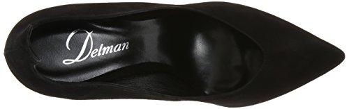 Delman Womens Brie Dress Pump Black