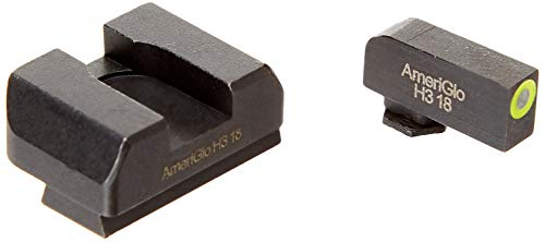Ameriglo Pro-IDOT For Glock 17/19 Green (Best Competition Sights For Glock 19)