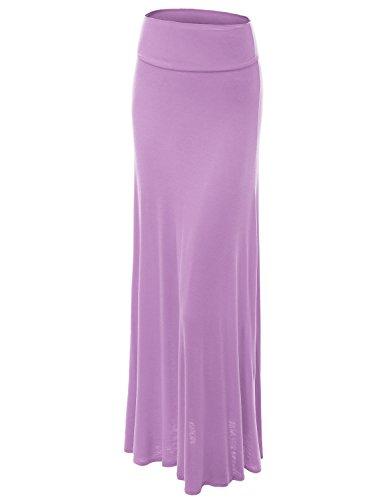 WB670 Womens Fold-Over Maxi Skirt XXL ()