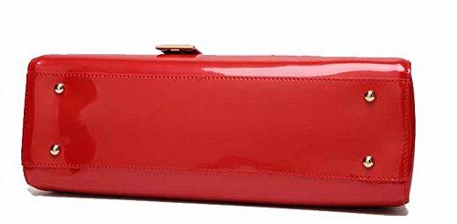 Borse Donna tracolla Rosso VogueZone009 Pelle a Maiale a Di Borse tracolla cerniere Z81xH7wq1