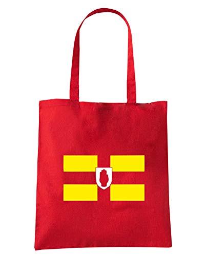 Speed Shirt Borsa Shopper Rossa WC0617 ULSTER FLAG