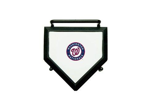 - MLB Washington Nationals Home Plate 4-pack Coaster Set