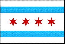 NEOPlex 3' x 5' Flag - City of Chicago
