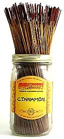 Cinnamon - 100 Wildberry Incense Sticks (100 Incense Stick)