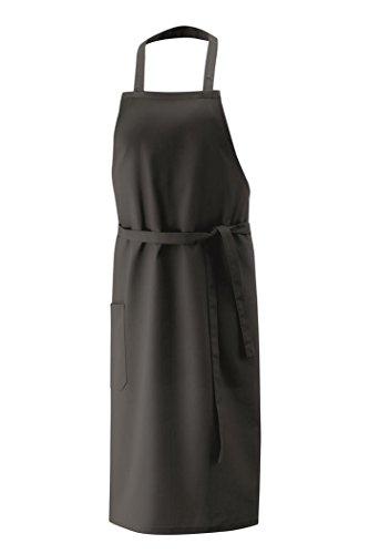 Exner Latzschürze XXL 100 x 100 cm, Black, 100 x 100 cm