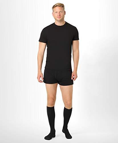vendita online sconto più votato acquista per il meglio ®BeFit24 Calze elastiche a compressione graduata (15-21 mmHg, 140 Denari,  Classe 1) per uomo - Gambaletti antitrombo lunghi - Compression socks - [  ...