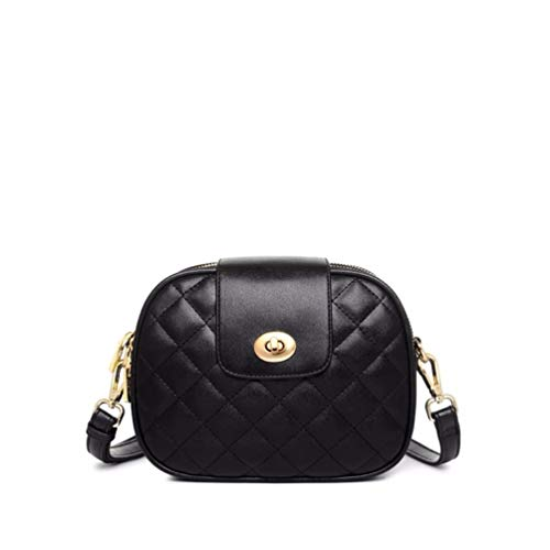 Compras Shoulder Black de Largo Single Bolso de Bolsillo Bolso Solo Multi Bag Hombro Cartera Billetera qg1wEOnf