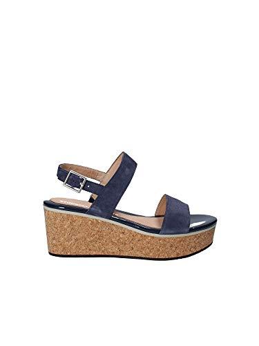 Stonefly Sandalo Zeppa 38 Blu Donna 110280 7xnRO4