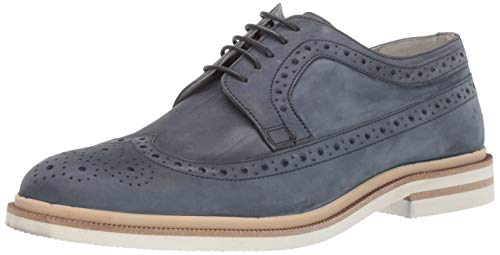 - Kenneth Cole New York Men's Vertical Lace Up Oxford, Denim, 9 M US