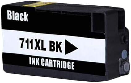 RudyTwos - Cartucho de Tinta Compatible con Designjet T120 y T520 para HP 711, Color Negro: Amazon.es: Informática