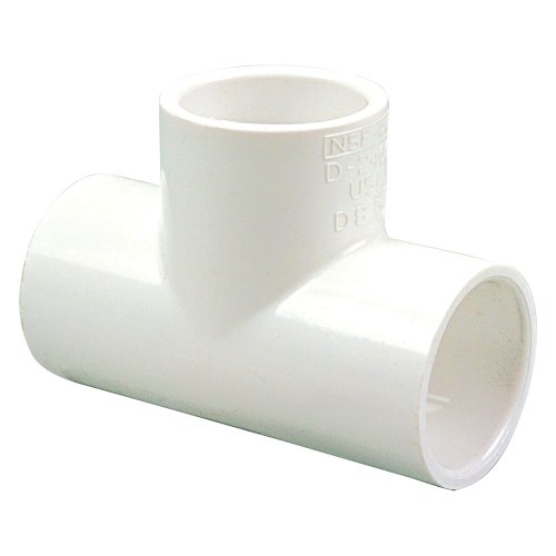 (NIBCO 401 Series PVC Pipe Fitting, Tee, Schedule 40, 2