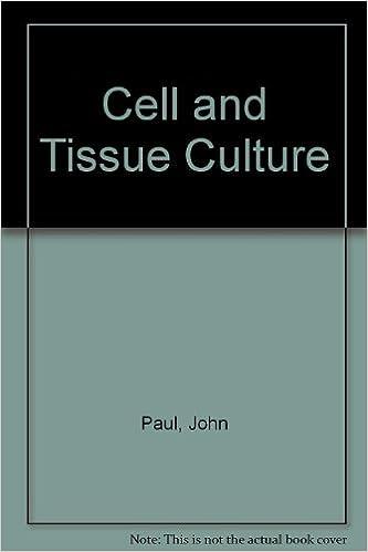 Cell and Tissue Culture: John Paul: 9780443012983: Amazon com: Books