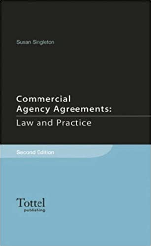 Book Commercial Agency Agreements Law and Practice