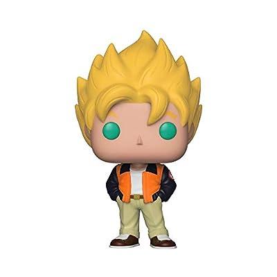 Funko Pop! Animation: Dragon Ball Z - Goku (Casual) Toy, Standard, Multicolor: Toys & Games