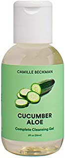 product image for Camille Beckman Complete Hand & Body Cleansing Gel, Cucumber Aloe, 2 Ounce