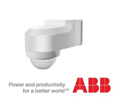 ABB WA240BL Detector de Presencia Watch Dog Basic Line: Amazon.es: Iluminación