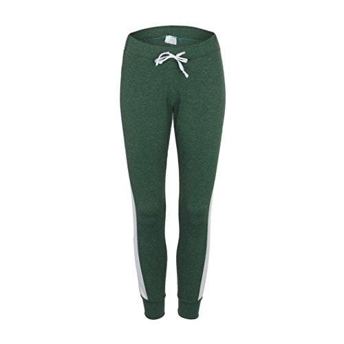 ITISME Jeanshosen Jeans - Taille Empire - Femme Ecru Noir Taille Unique Vert