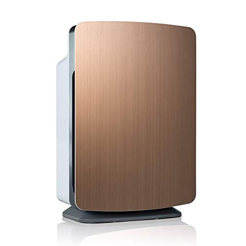 Alen BreatheSmart Classic Large Room Air Purifier, 1100 sqft. Big Coverage Area, HEPA Filter for Mold, Bacteria, Allergies, Pollen, Dust, Dander and Fur, with Extra Filter, Brushed Bronze