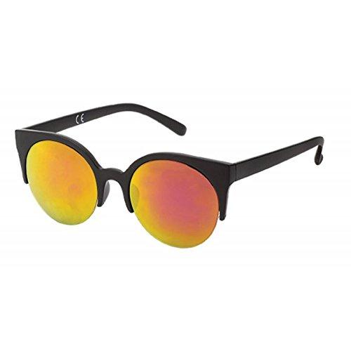 Chic-Net Gafas de sol Cateye 400 Ronda UV fondo azul ...