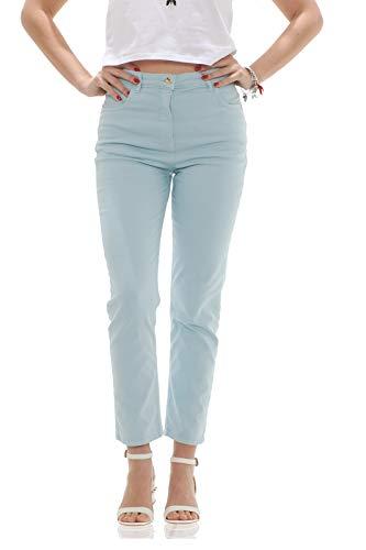 Cotone Jeans Sky Vita Pepe Alta Donna Patrizia A Glacier In Stretch fOwqTZ0