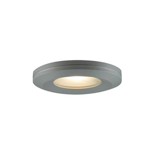 (Jesco Lighting KIT-PK404-BA-A Halogen Beveled Edge Slim Disk Kit, Aluminum)