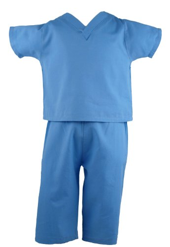 12-18 Month Doctor Costume (Scoots Baby Boys'  Scrubs, 12-18 months, Blue)