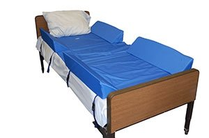 30-Degree Full Body Bed Support System w/4 Attached Bolsters - 1 Set