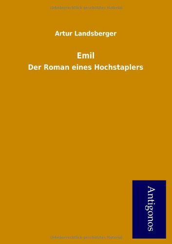 Emil (German Edition) pdf epub