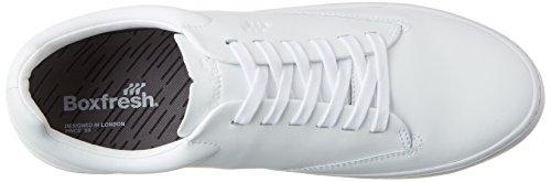 Boxfresh Esb Sh Lea Wht - Zapatillas de casa Hombre Weiß (Weiß)