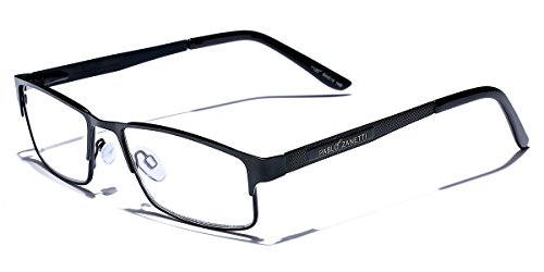 - Metal Wire Rim Rectangular Frame Reading Glasses with Spring Hinge Various Strengths and Colors LARGE SIZE