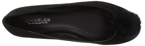 by Charles Danni Black Ballet Charles Women's David Flat Pxaw8