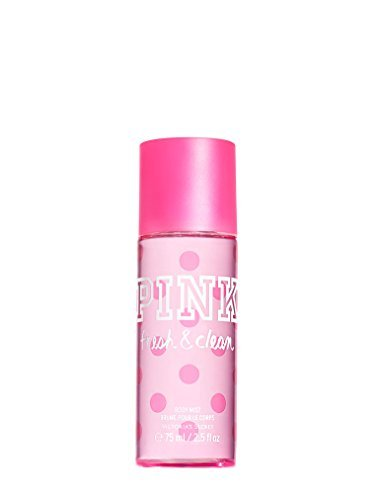 Victoria's Secret PINK Fresh And Clean Fragrance Travel Size Body Mist -