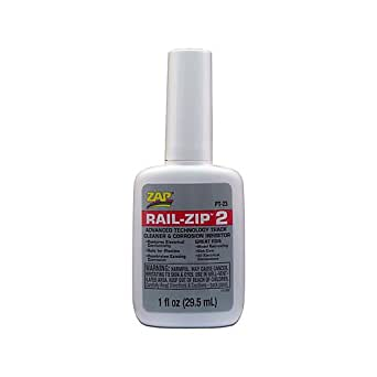 Pacer Technology (Zap) Rail-Zip Adhesives, 1 oz
