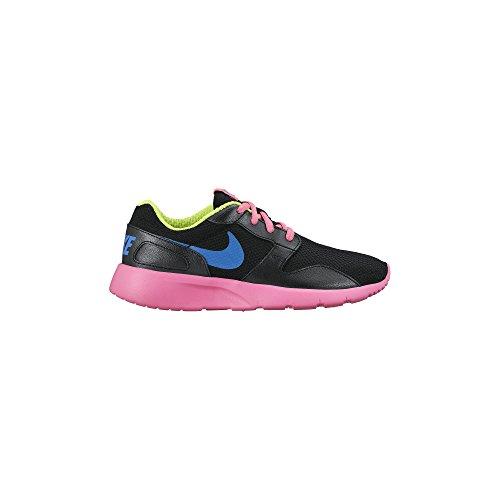 Nike Girl's Kaishi (GS) Running Shoe Black/Pink Pow/Volt/Photo Blue 6
