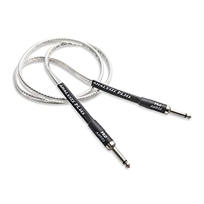 Image of Analysis Plus Silver Oval Speaker Cable 3ft 1/4' Straight to Straight Speaker Cables