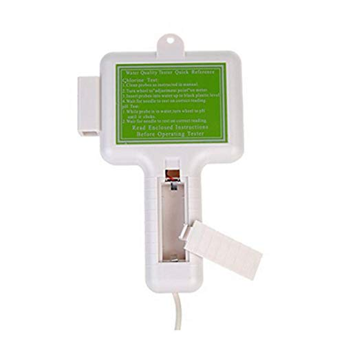 ❤JPJ(TM)❤️_Home decoration 1pcs New Creative PH CL2 Chlorine Level Meter Water Quality Tester Test Monitor Swimming Pool Spa (Silver) by ❤JPJ(TM)❤️_Home decoration (Image #7)