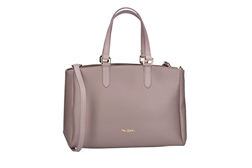 Tasche damen mit schultergurt PIERRE CARDIN pink leder Made in Italy VN110 CvFsEb