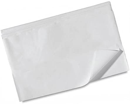 "NEW Basic Solid White Bulk Tissue Paper 15/"" x 20/"" 100 Sheets FREE SHIPPING"