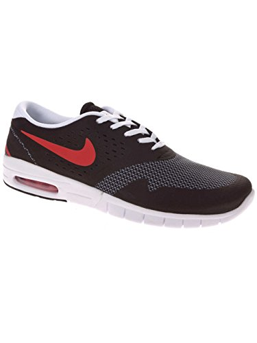 RED GREY para Skateboarding UNIVERSITY Koston Nike BLACK COOL Hombre Zapatillas de MAX 2 Eric wqHwWnROP