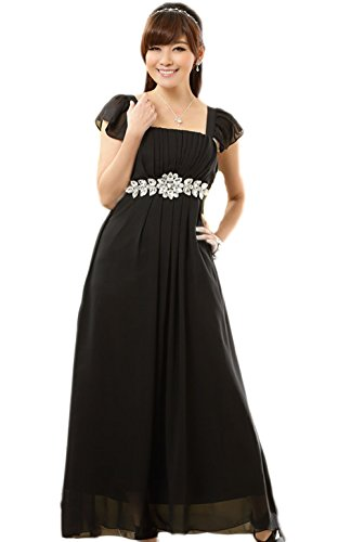 Abendkleid schwarz lang hochzeit