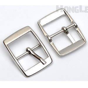 CUSHY DIY 20pcs/lot metal 14mm shoe pin alloy high polished/black/Bag accessories BK-037: Nickel